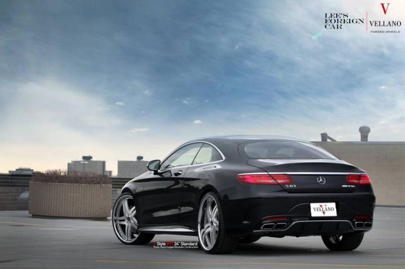 Mercedes Benz S63 AMG Coupe C217 Vellano 24 Zoll VTT Tuning 1