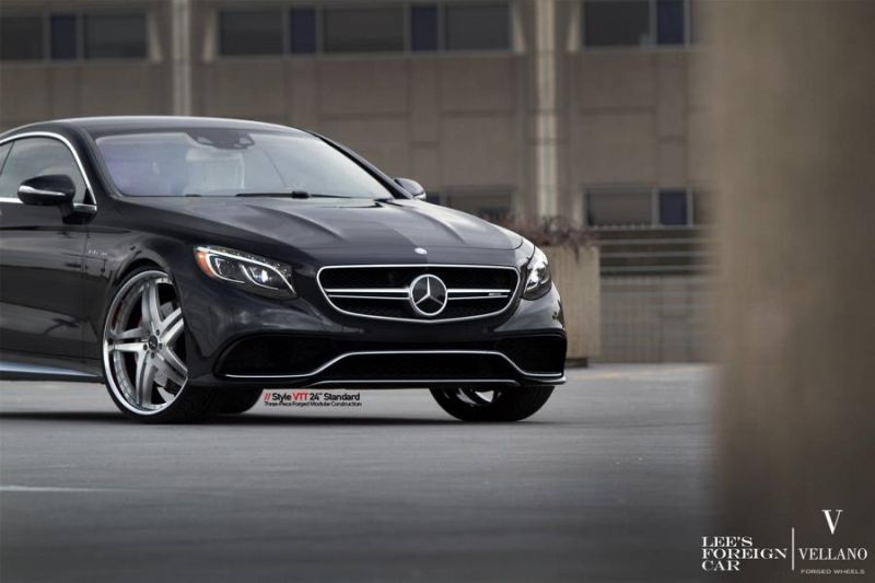 Mercedes Benz S63 AMG Coupe C217 Vellano 24 Zoll VTT Tuning 10