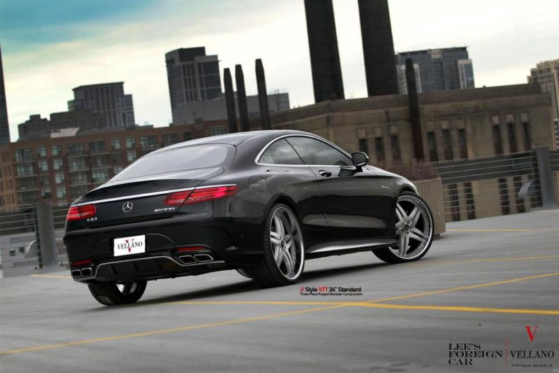 Mercedes Benz S63 AMG Coupe C217 Vellano 24 Zoll VTT Tuning 4