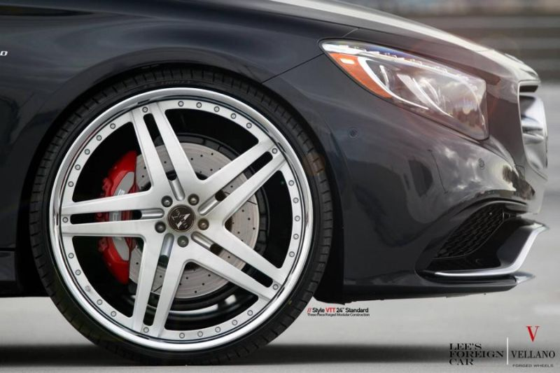 Mercedes Benz S63 AMG Coupe C217 Vellano 24 Zoll VTT Tuning 6