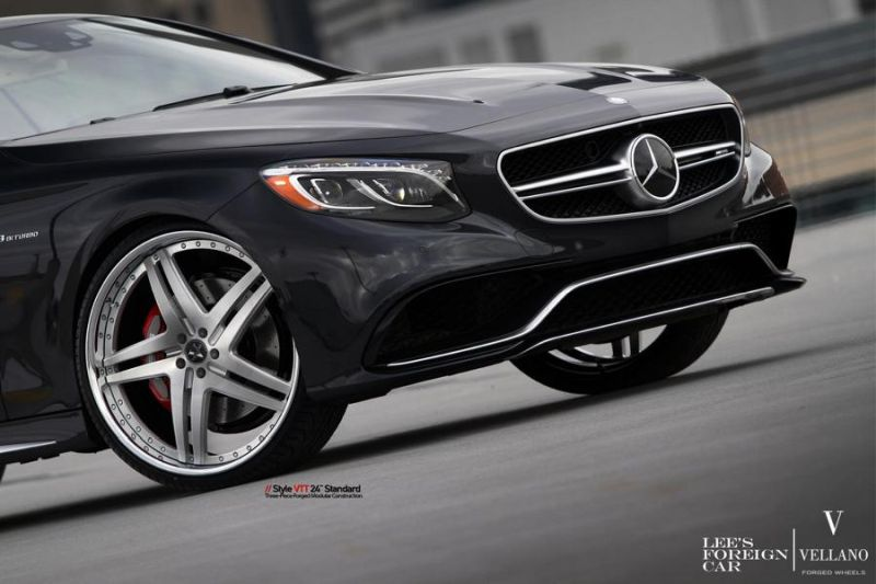 Mercedes Benz S63 AMG Coupe C217 Vellano 24 Zoll VTT Tuning 7