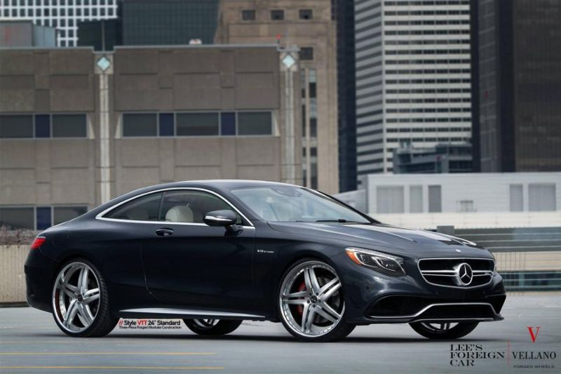 Mercedes Benz S63 AMG Coupe C217 Vellano 24 Zoll VTT Tuning 8