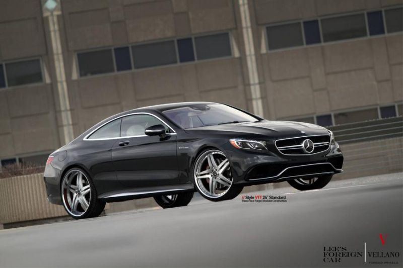 Mercedes Benz S63 AMG Coupe C217 Vellano 24 Zoll VTT Tuning 9