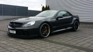 Mercedes Benz SL500 Black Series Optik by Inden Design Tuning 10 190x107 Mercedes Benz SL500   Black Series Optik by Inden Design