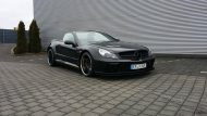 Mercedes Benz SL500 Black Series Optik by Inden Design Tuning 2 190x107 Mercedes Benz SL500   Black Series Optik by Inden Design