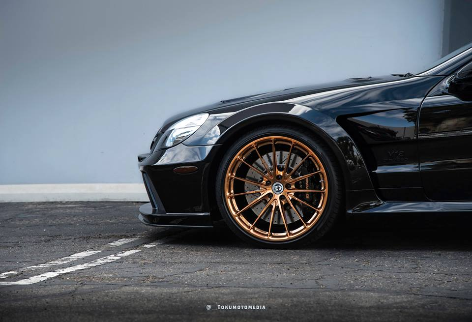 Mercedes Benz SL65 AMG Black Series HRE P103 Tuning 1 Oberhammer   Mercedes SL65 AMG Black Series auf HRE Alu's
