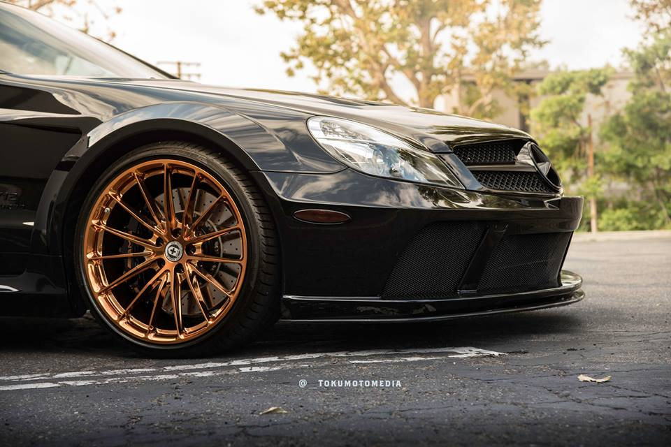 Mercedes Benz SL65 AMG Black Series HRE P103 Tuning 3 Oberhammer   Mercedes SL65 AMG Black Series auf HRE Alu's