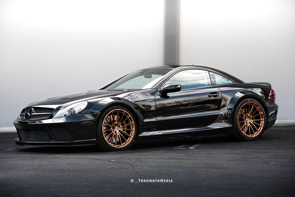 Mercedes Benz SL65 AMG Black Series HRE P103 Tuning 4 Oberhammer   Mercedes SL65 AMG Black Series auf HRE Alu's