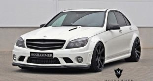 Mercedes C63 AMG W204 Bodykit by Moshammer Tuning 2 1 e1457933597830 310x165 Moshammer Manufaktur   Widebody Mercedes C205 Coupe