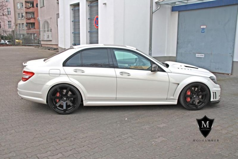 brutal mercedes c63 amg w204 bodykit by moshammer. Black Bedroom Furniture Sets. Home Design Ideas