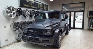 Mercedes G Klasse W463 Prior Design Bodykit Folienwerk NRW Tuning 12 1 e1457209760704 310x165 720 PS ONYX G7 Widebody Mercedes Benz G63 AMG