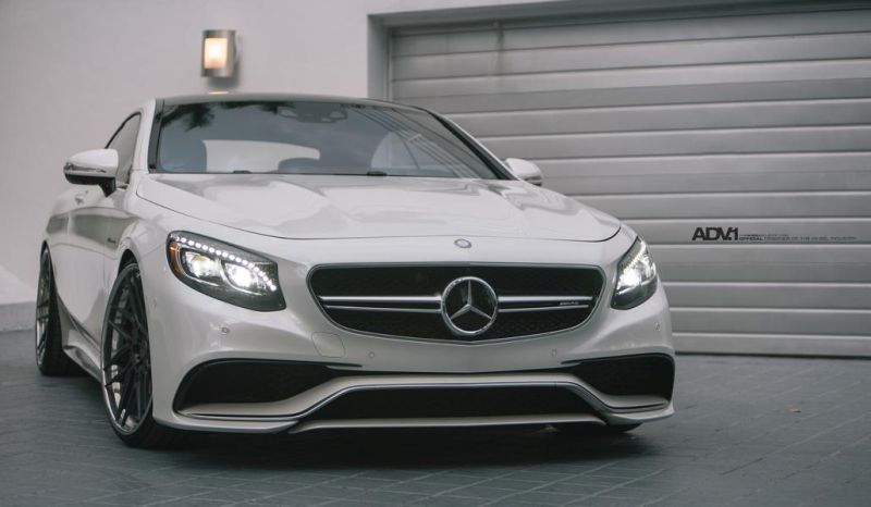 Mercedes S Coupe C217 auf 22 Zoll ADV7R Alu's Tuning 1 Mega edel   Mercedes S Coupe C217 auf 22 Zoll ADV7R Alu's