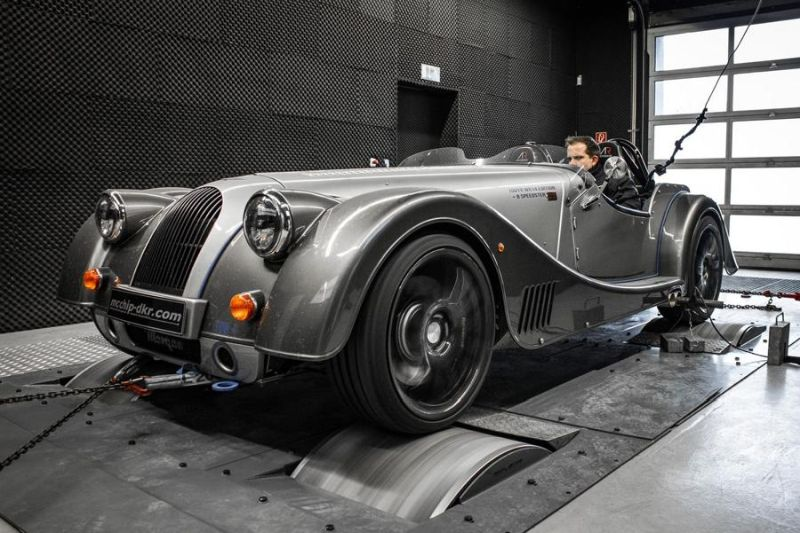 Morgan Plus 8 4.8 V8 379PS by Mcchip DKR Chiptuning 2 Exclusive   Seltener Morgan Plus 8 4.8 V8 mit 379PS by Mcchip DKR
