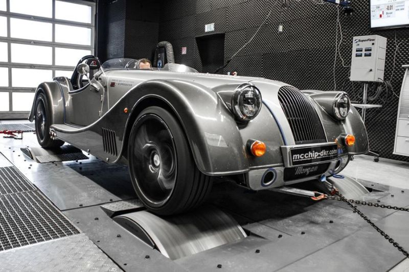 Morgan Plus 8 4.8 V8 379PS by Mcchip-DKR Chiptuning 4