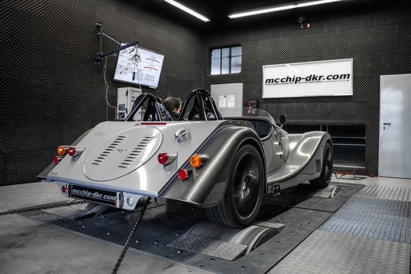 Morgan Plus 8 4.8 V8 379PS by Mcchip-DKR Chiptuning 6