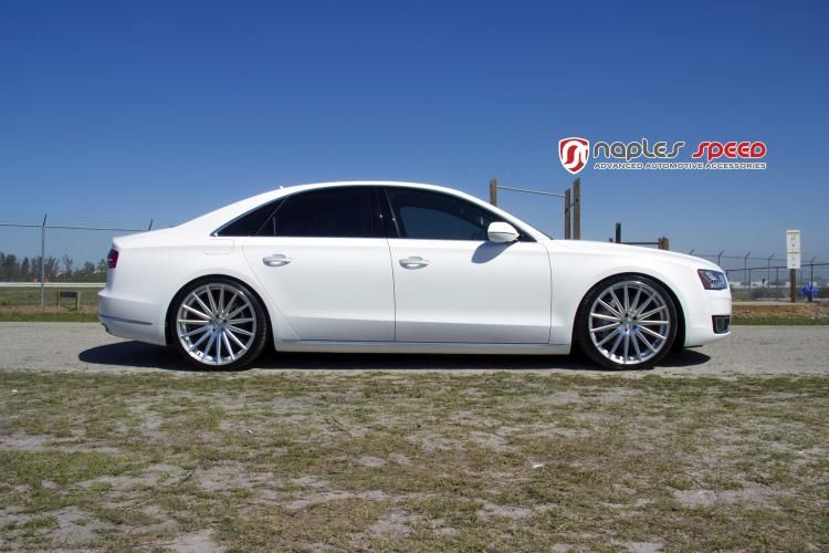 Naples Speed Audi A8 22 Zoll Vossen Wheels VFS2 Tuning 2 Naples Speed Audi A8 auf 22 Zoll Vossen Wheels VFS2 Alu's