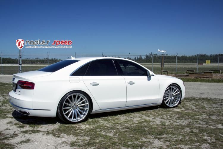Naples Speed Audi A8 22 Zoll Vossen Wheels VFS2 Tuning 3 Naples Speed Audi A8 auf 22 Zoll Vossen Wheels VFS2 Alu's