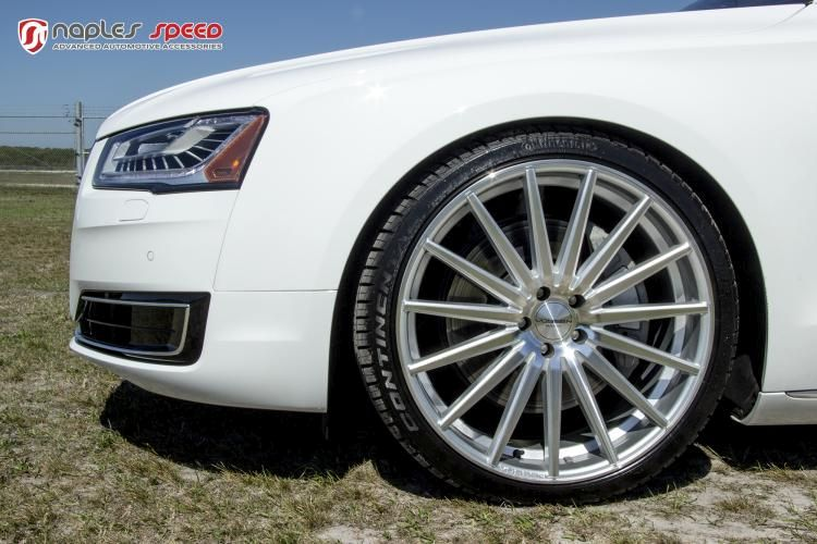 Naples Speed Audi A8 22 Zoll Vossen Wheels VFS2 Tuning 4 Naples Speed Audi A8 auf 22 Zoll Vossen Wheels VFS2 Alu's