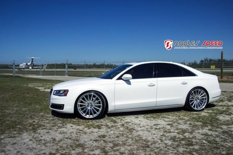 Naples Speed Audi A8 22 Zoll Vossen Wheels VFS2 Tuning 5 Naples Speed Audi A8 auf 22 Zoll Vossen Wheels VFS2 Alu's