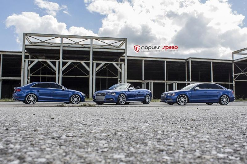 Naples Speed Audi S3 S4 S5 Vossen CVT Tuning 13