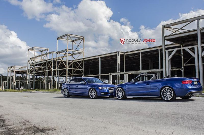 Naples Speed Audi S3 S4 S5 Vossen CVT Tuning 14
