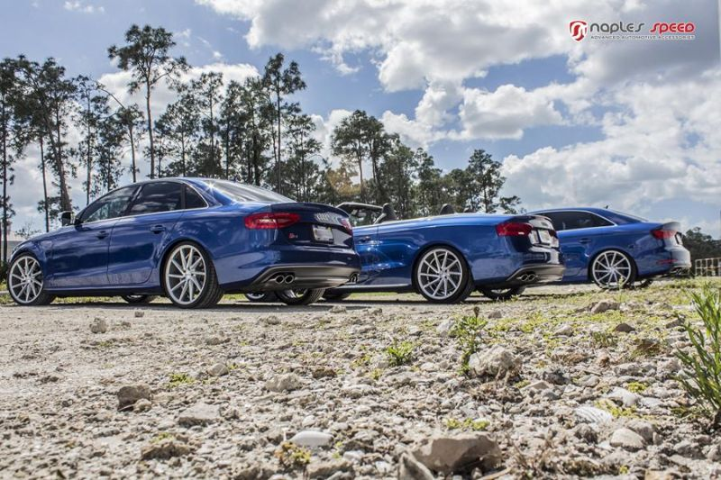Naples Speed Audi S3 S4 S5 Vossen CVT Tuning 2