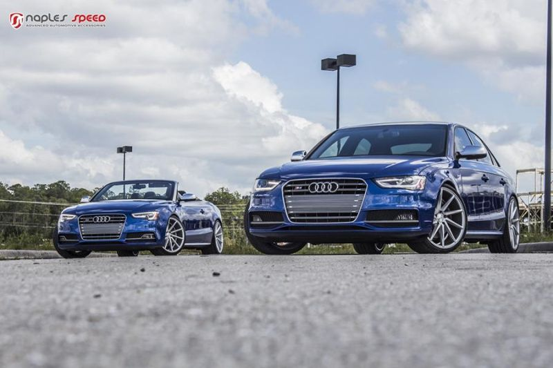 Naples Speed Audi S3 S4 S5 Vossen CVT Tuning 4