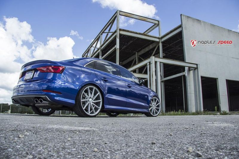 Naples Speed Audi S3 S4 S5 Vossen CVT Tuning 7