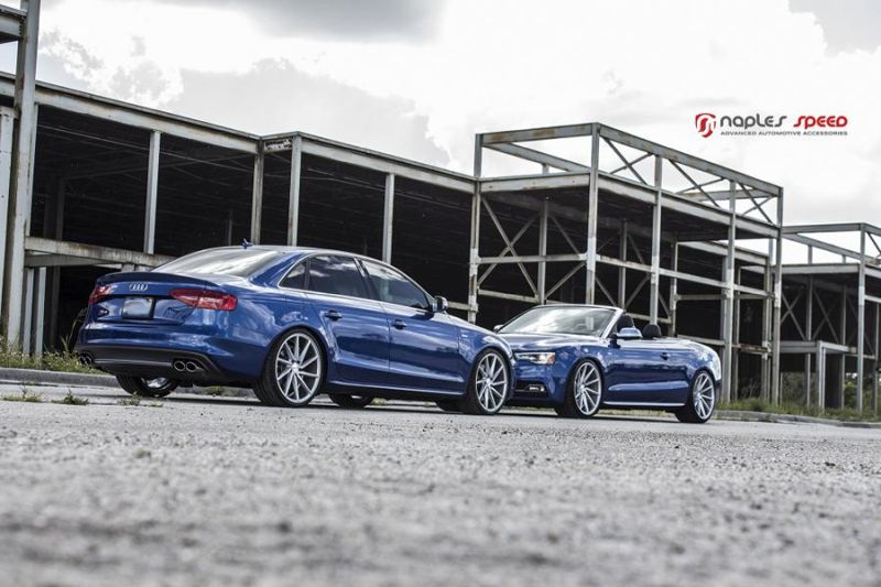 Naples Speed Audi S3 S4 S5 Vossen CVT Tuning 8
