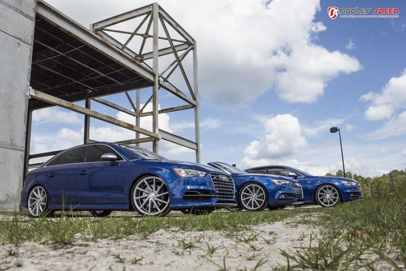 Naples Speed Audi S3 S4 S5 Vossen CVT Tuning 9