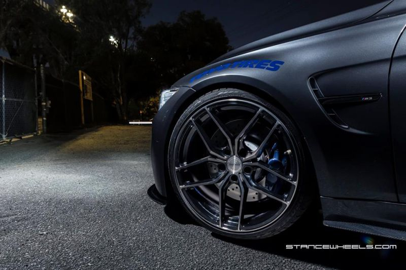 Need 4 Speed Motorsports BMW M3 F80 Stance Wheels SF03 1 Need 4 Speed Motorsports   BMW M3 F80 auf Stance Wheels