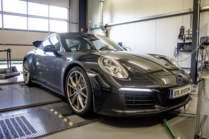 Porsche 911 Carrera 4S II 462PS 587NM Chiptuning DTE Systems 5 Porsche 911 Carrera 4S II mit 462PS & 587NM by DTE Systems