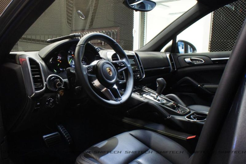 Porsche Cayenne 3.0 E-Hybrid 498PS Chiptuning Shiftech Engineering 5