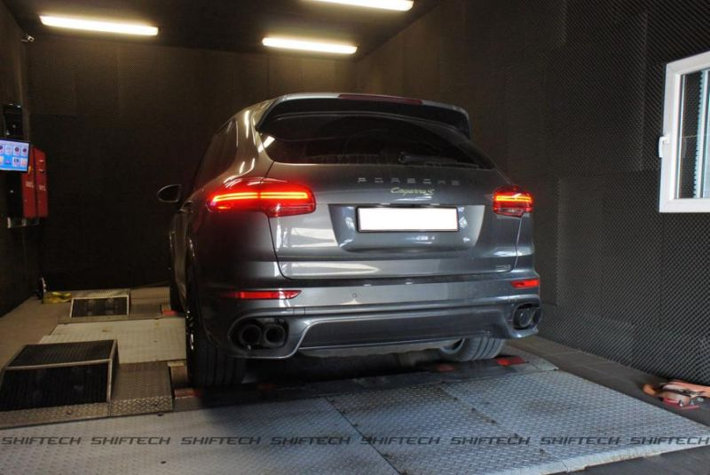 Porsche Cayenne 3.0 E-Hybrid 498PS Chiptuning Shiftech Engineering 6