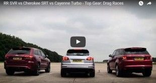Porsche Cayenne Turbo S vs. Range Rover SVR vs. Jeep Cherokee SRT e1458280043778 310x165 Video: Porsche Cayenne Turbo S vs. Range Rover SVR vs. Jeep Cherokee SRT