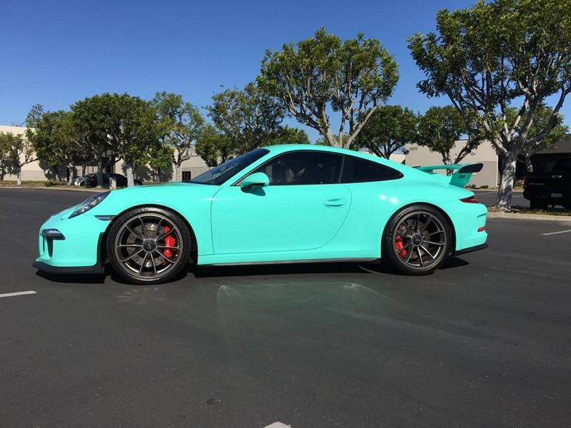 protective film solutions porsche 911 gt3 tiffany blue tuning 3