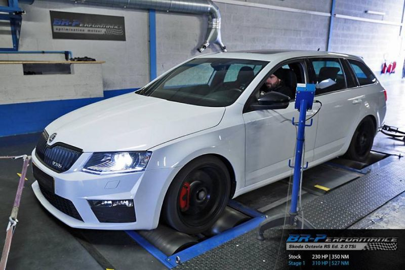 Skoda Octavia RS Edition 2.0 TSi Chiptuning 310PS by BR Performance 1 Skoda Octavia RS Edition 2.0 TSi mit 310PS by BR Performance