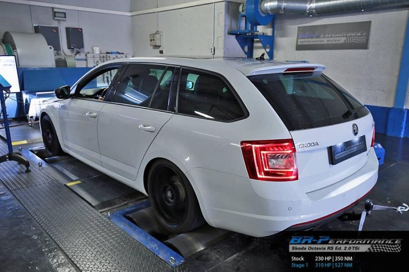 Skoda Octavia RS Edition 2.0 TSi Chiptuning 310PS by BR Performance 2 Skoda Octavia RS Edition 2.0 TSi mit 310PS by BR Performance