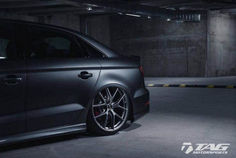 TAG Motorsports Audi A3 S3 Limousine Airride Fahrwerk Tuning 2
