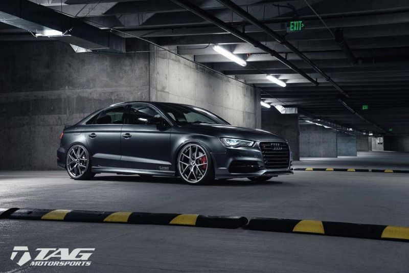 TAG Motorsports Audi A3 S3 Limousine Airride Fahrwerk Tuning 7