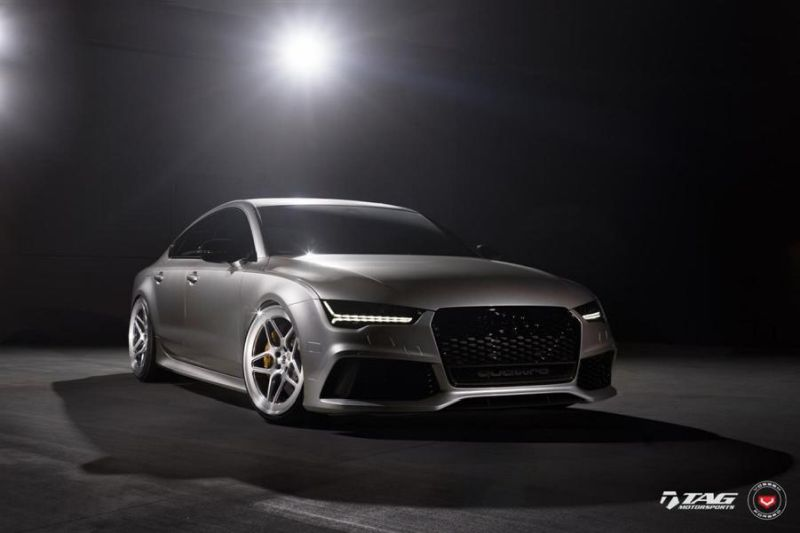 TAG Motorsports Audi RS7 21 Zoll LC 104 Vossen Tuning 1 1 Hammer   TAG Motorsports Audi RS7 auf 21 Zoll LC 104 Alu's