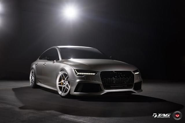 TAG Motorsports Audi RS7 21 Zoll LC 104 Vossen Tuning 1 Hammer   TAG Motorsports Audi RS7 auf 21 Zoll LC 104 Alu's