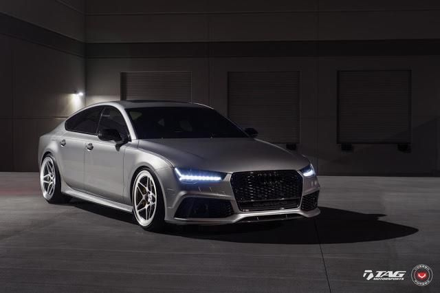 TAG Motorsports Audi RS7 21 Zoll LC 104 Vossen Tuning 2 Hammer   TAG Motorsports Audi RS7 auf 21 Zoll LC 104 Alu's