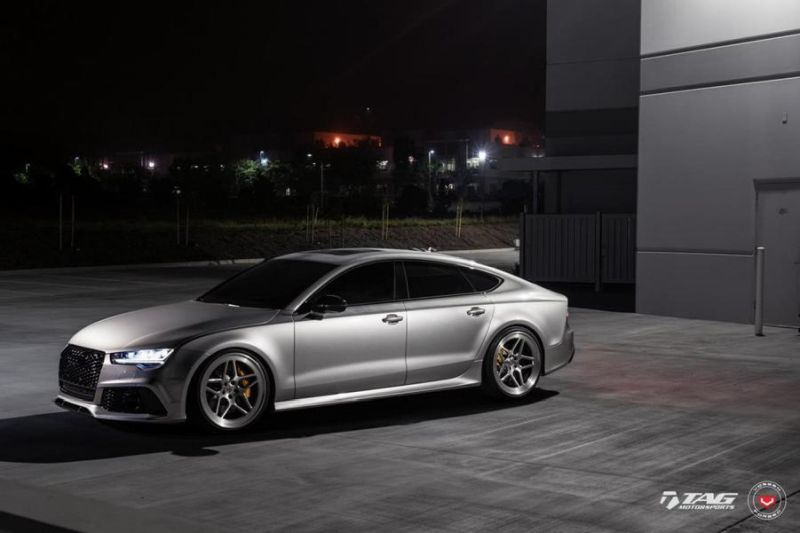 TAG Motorsports Audi RS7 21 Zoll LC 104 Vossen Tuning 3 Hammer   TAG Motorsports Audi RS7 auf 21 Zoll LC 104 Alu's