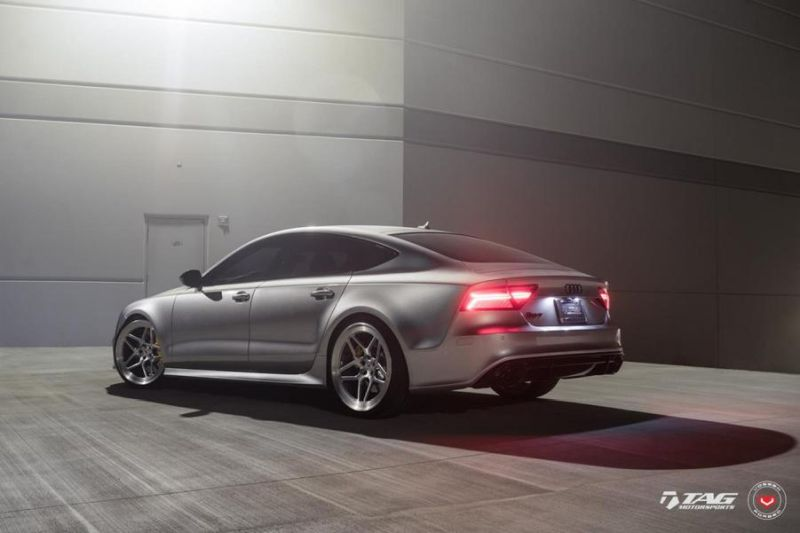 TAG Motorsports Audi RS7 21 Zoll LC 104 Vossen Tuning 4 Hammer   TAG Motorsports Audi RS7 auf 21 Zoll LC 104 Alu's