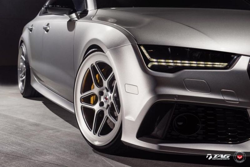 TAG Motorsports Audi RS7 21 Zoll LC 104 Vossen Tuning 6 Hammer   TAG Motorsports Audi RS7 auf 21 Zoll LC 104 Alu's