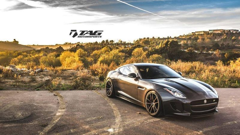 TAG Motorsports Jaguar F Type R Coup%C3%A9 20 Zoll HRE P104 Tuning 1 TAG Motorsports Jaguar F Type R Coupé auf 20 Zoll HRE Alu's