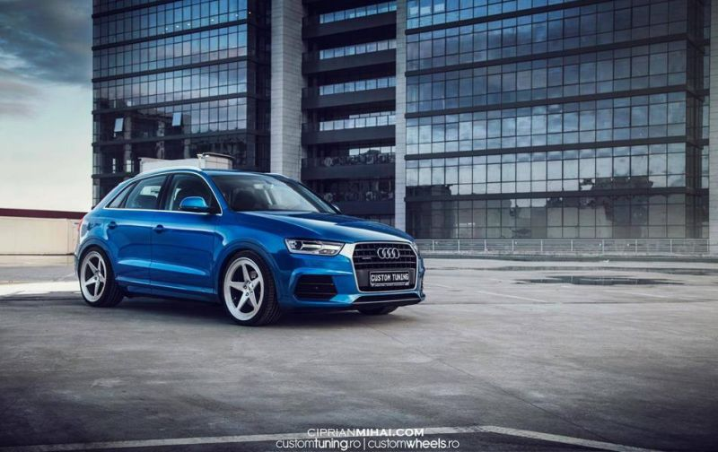 elegante wahl audi q3 auf vossen wheels typ lc 101. Black Bedroom Furniture Sets. Home Design Ideas