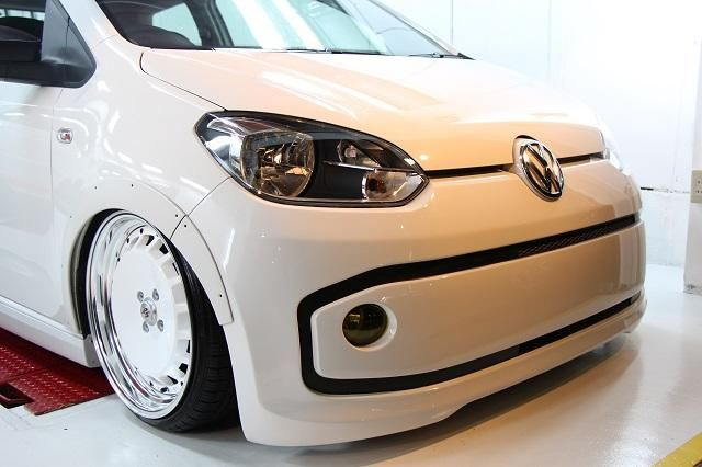 Tuning Voomeran Bodykit VW UP 2 Volles Programm   Voomeran tunt den kleinen VW UP