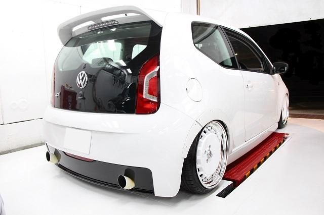 Tuning Voomeran Bodykit VW UP 3 Volles Programm   Voomeran tunt den kleinen VW UP